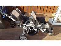 Jane double tandem buggy stroller