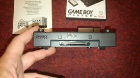 Gameboy player for nintendo gamecube. Includes the all important disc.