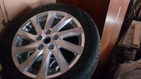 5 stud off Mazda 6