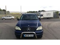 Mercedes ML 320 Automatic Main Dealer Service History 1Year MOT Big Spec Leather Seats Great Runner!
