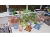 BARGAIN! BEAUTIFULL ART DECO GLASS COLLECTION