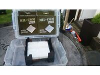 fuel blocks and holder for camping