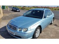 2001 51 ROVER 75 2.0 CDT AUTOMATIC DIESEL ** MOT JULY 2017 ** GOOD SERVICE HISTORY **
