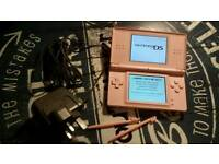 Mint condition pink ds lite with charger and new styluses