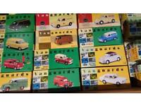 Vanguards toy cars