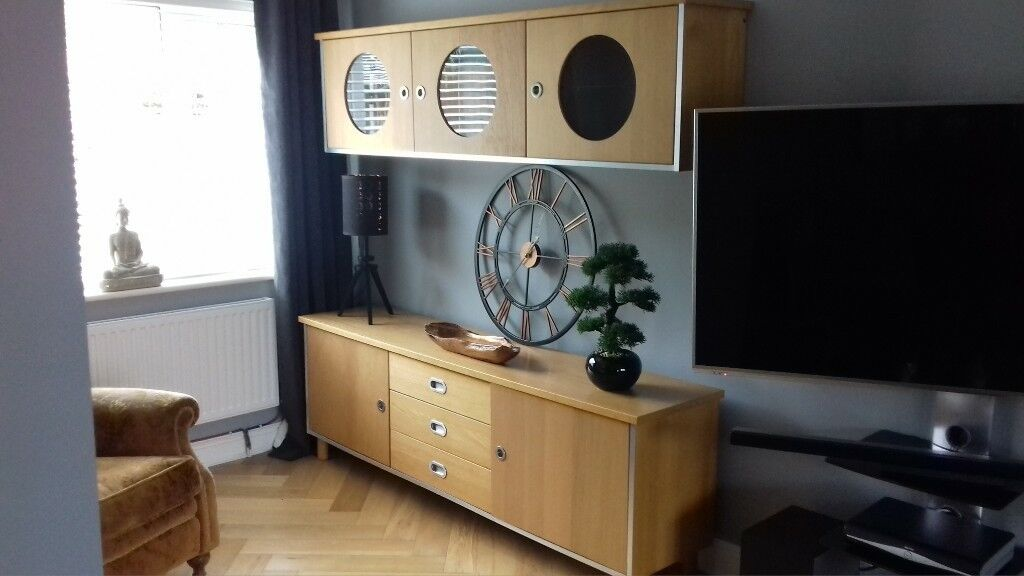 sideboard and top display/storage unit