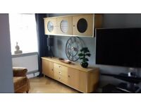 Oak furniture - Wall and base unit