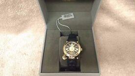 Vivienne Westwood ladies Orb strap watch - £110