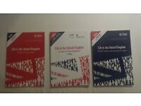 Life in the United Kingdom - 3 books!!!