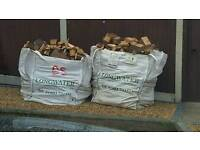 2 x Bags assorted wood..Ideal for log burner/Open fires..£50 a ton sack..