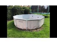 Summer escapes 10ft framed pool