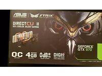 ASUS Strix GTX 970 OC edition with 4GB VRAM
