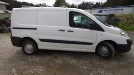 CITROEN Dispatch 100 Hdi 90 SWB, 1.6 Turbo Diesel, Twin Sliding Doors, 3 Seats, 2010-59 plate