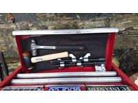 Toolbox with good branded tools for sale