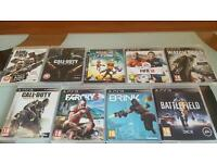 PS3 GAMES BUNDLES (INDIVIDUALLY SOLD AS WELL)