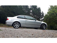 BMW 318 CI E46 2.0 PETROL COUPE M SPORT ACCESORIES MOT DECEMBER 2016 LOOKS AND DRIVING PERFECT
