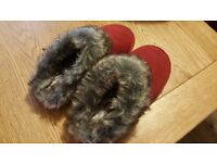 Ladies slippers from Next