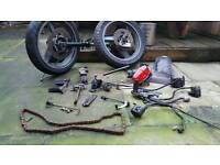 1996 kawasaki gpz500s job lot of parts