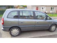 2005 Vauxhall Zafira 1.8cc Life 5dr