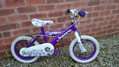 "Huffy Eclipse Girls Starter Bike - Purple - 10"" Wheel"