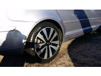 """Audi /vw alloy wheels 17"""""""