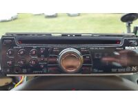 Sony CD Player Stereo head unit MP3 Aftermarket RDS AUX