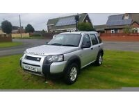 2004 landrover freelander 1.8 s s/w 4x4 low miles full service history lady owned