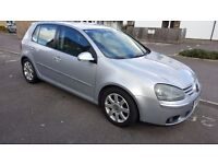 Perfect silver VW Golf Mk5 2.0 GT TDI 140 bhp with full service history