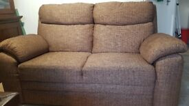 Large 2 Seater Fabric Sofa Great Condition