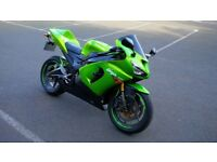 Sale or Swap 2005 Kawasaki Ninja ZX6R 636