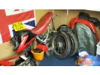 Honda xr125 project. spares or tepairs
