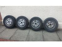 Ford Transit Wheels & Tyres, 15 Inch, 7-8mm tread