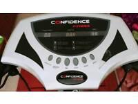 Confidence fitness vibration plate exerciser