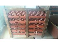 Handmade vegetable racks