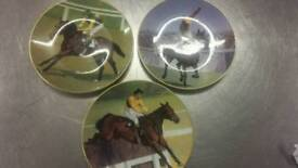 Classic racehorse plates