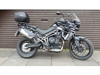 Triumph XR 800 Tiger from Cooperized TW13 4PA