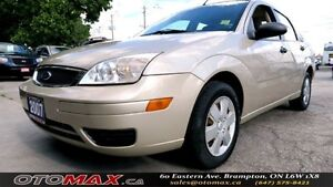 2007 Ford Focus SE | NO ACCIDENT | LOW KM | CERTIFIED