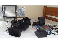 Sony Z1 HVR Professional Camcorder + Accessories