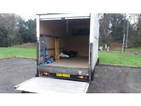 BEST PRICES RELIABLE MAN WITH LARGE LUTON VAN FOR ALL REMOVALS TO ONE OFF ITEMS