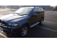 BMW X5 3.0D SPORT 04 plate SEMI-AUTO DIESEL, MET BLUE, BEIGE,LEATHER INTERIOR, TOW BAR, MOT AUG17