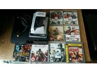 PS3 Sony Playstation 3 slim 120GB - 8 Games - 1 Controller - all the leads