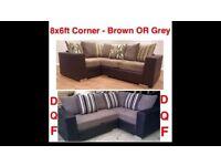 NEW 8ftx6ft Corner ONLY £399