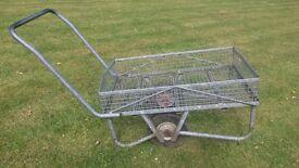 Garden Trolley , 2 wheels and galvenized
