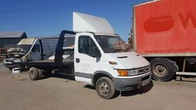 IVECO DAILY 2.8 2004 RECOVERY TRUCK TILT AND SLIDE PROJECT RUN AND DRIVE