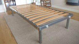Single Metal Platform Bed Frame