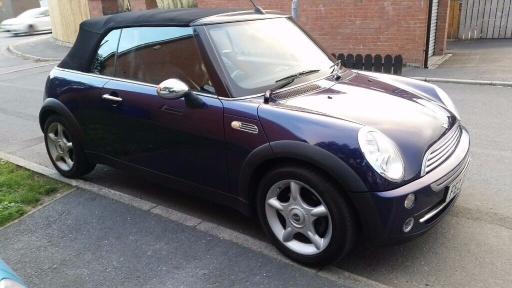 2005 Mini Convertible reduced to sell today