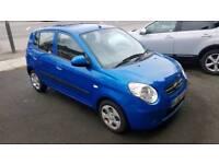 Kia Picanto. AUTO. 1.1l petrol. 5 door. Blue. 2008. Lovely motor.