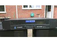 Crown XLS202 Power Amplifier - 2 channel 400w - #club #dj #bar #studio