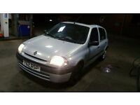 Clio 1.2 Mot 07.17 very good car ideal for 1st time buyer 5 doors £325