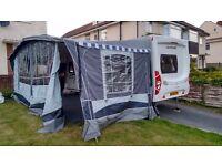 quest blenheim caravan awning - size 14